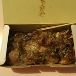 たこぼん - 料理写真:たこ焼(8個入り)490円マヨネーズあり