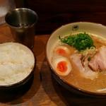59090254 - 玉子らーめん+白ご飯