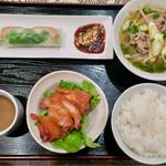 ベトナム料理専門店 サイゴン キムタン - 201611 ランチのキムタンめしDセット(890円)