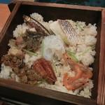 日本料理 松江 和らく - 宍道湖七品せいろ