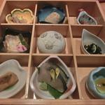 日本料理 松江 和らく - 季節の九角(ご膳共通)