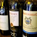 goffo - お奨め赤ワインから、右の二種を選択