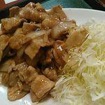 中華東秀 - しょうが焼きの単品