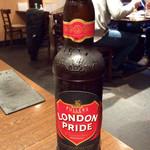 キッチン・ゴン - 輸入ビールより今回は「ロンドンプライド」(550円)を選んでみた。