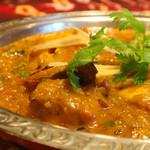 印度料理シタール - 濃厚なフィッシュマサラ。