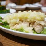 鼎泰豐 - 蒸し鶏ネギソース