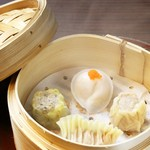 中国菜エスサワダ - 香港式点心四種盛り合わせ