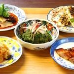中国菜エスサワダ - 季節の前菜盛り合わせ