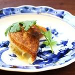 中国菜エスサワダ - 上海蟹とフカヒレの焼き餃子