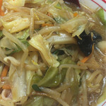 蒙古タンメン中本 - 味噌タンメン