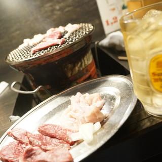 四条ホルモン - 料理写真:焼くべし焼くべし!