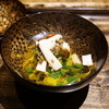 御料理 光安 - 料理写真:信州の松茸と菊菜のおひたし