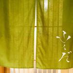 麻布十番 ふくだ - 暖簾