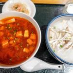 咸亨酒店 - トリプルハーフ 辛子麺