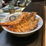 う越貞 - ガス海老 でかい!