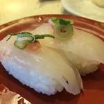 力丸 - 活かわはぎ、好きな魚で家でもよくいただきますが、生簀に居た割には普通だったかな?