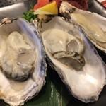 力丸 - 兵庫県室津の牡蠣、生ガキは久しぶりです