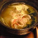 寛寿司 - かに汁