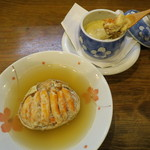 59100151 - カニ面、香箱蟹茶碗蒸し
