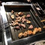 新鮮鳥焼き ぼんじり - 料理写真: