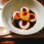 雅楽茶 - 豆腐白玉