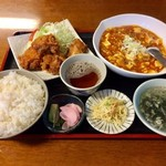 こしじ - H28.11.19 スタミナセット定食