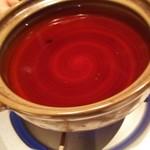 59105369 - 鰹出汁の鍋です。