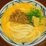 丸亀製麺 - 肉たま あんかけうどん♥ 優しい味わい(〃´o`)=3