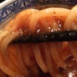 59105869 - ドロッと麺に載る浸け汁
