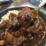 西洋料理箱 魯風人 - ほほ肉がゴロンゴロン・・。