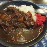 西洋料理箱 魯風人 - ご飯・・・盛り過ぎ