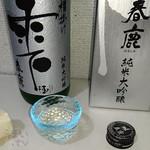 59107523 - 日本名門酒会オリジナル限定品                       春鹿 純米大吟醸 雫酒                       720ml 3,726円(税込)