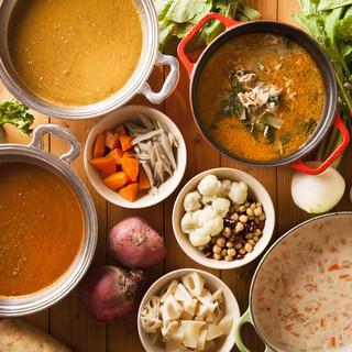組み合わせいろいろ【スープ&カレー】