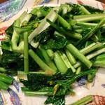 欅亭 - H28.11.19 青菜のソテー