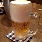 欅亭 - H28.11.19 キリン生ビール