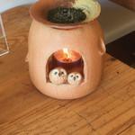 59109148 - 茶葉を炙っています(*^^*)。
