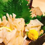 生け簀の甲羅 - ばい貝