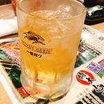 生け簀の甲羅 - ハイボール