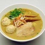 元喜神 - 料理写真:鶏白湯らーめん