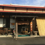 白笹うどん 多奈加 - 161117店舗外観