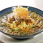 ラーメン123 - 黒胡麻担々麺