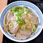 吉野家 - ねぎ塩ロース豚丼並盛