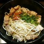 ラーメン純風殿 - 純風麺2号(混ぜる前)