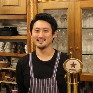横浜を中心に格式高いレストランで研磨を積んだシェフ沼田
