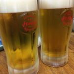 いちゃりば - やっぱりオリオンビールで乾杯!