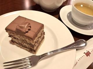 トップス 赤坂Bizタワー店 - チョコレートケーキ