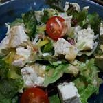 59119575 - 島豆腐のサラダ
