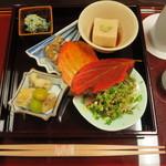 ひら川 - 料理写真:前菜