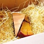 59121171 - チーズケーキ・おいもさん