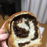 ぶどうぱんの店 舞い鶴 - ぶどうパン 小 400円  レーズンタップリですが甘さ控え目です!